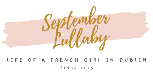 logo September Lullaby blog lifestyle of a French girl in Dublin